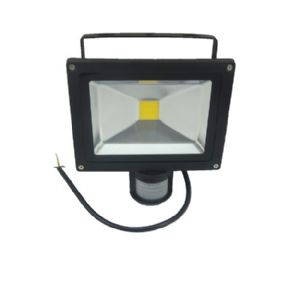 10W LED Floodlight | PIR Sensor | IP65 Waterproof | 100W Equivalent